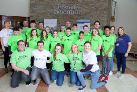 Boston Scientific Group Pic Volunteers Children