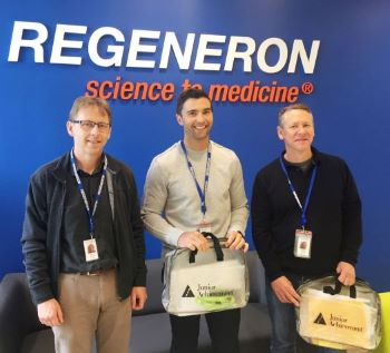 Regeneron volunteers 1